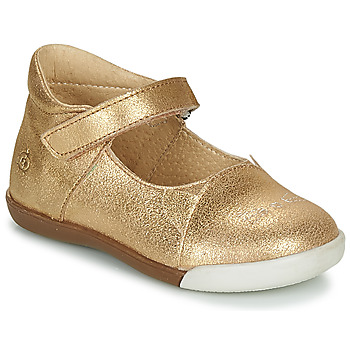 Zapatos Niña Bailarinas-manoletinas Citrouille et Compagnie LAKALA Oro