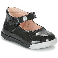 Zapatos Niña Bailarinas-manoletinas Citrouille et Compagnie LAKALA Negro