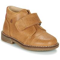 Zapatos Niño Botas de caña baja Citrouille et Compagnie LAPUPI Camel