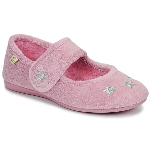Zapatos Niña Pantuflas Citrouille et Compagnie LAFIFOU Rosa