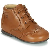 Zapatos Niños Botas de caña baja Citrouille et Compagnie LIMETTE Camel