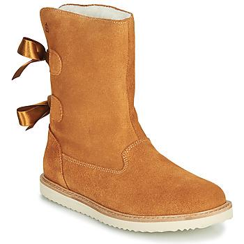 Zapatos Niña Botas de caña baja Citrouille et Compagnie LILINA Camel