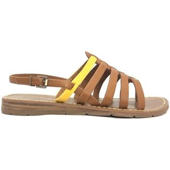Zapatos Mujer Sandalias Chattawak sandales 7-SHIRLEY Camel/Jaune Marrón