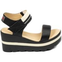 Zapatos Mujer Sandalias Chattawak sandales 9-PAVOT Noir Negro