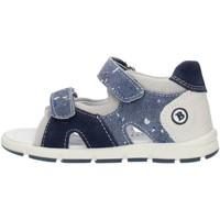Zapatos Niño Sandalias Balocchi 493133 Azul y gris