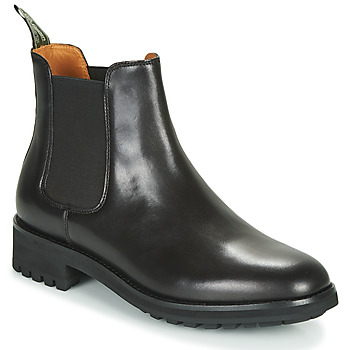Zapatos Hombre Botas de caña baja Polo Ralph Lauren BRYSON CHLS Negro