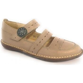 Zapatos Niña Derbie & Richelieu Colores Shiny Beige Beige