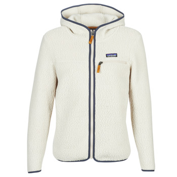 textil Mujer Polaire Patagonia W'S RETRO PILE HOODY Blanco