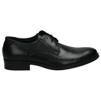 Zapatos Hombre Derbie & Richelieu Nuper Zapato vestir para hombre negro  2751 Noir
