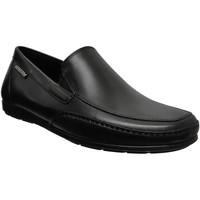 Zapatos Hombre Mocasín Mephisto Andreas Cuero negro