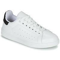 Zapatos Mujer Zapatillas bajas Yurban SATURNA Blanco / Negro