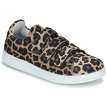Zapatos Mujer Zapatillas bajas Yurban LABANE Leopardo