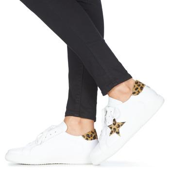 Yurban LAMBANE Blanco - Envío gratis |  - Zapatos Deportivas bajas Mujer 6000