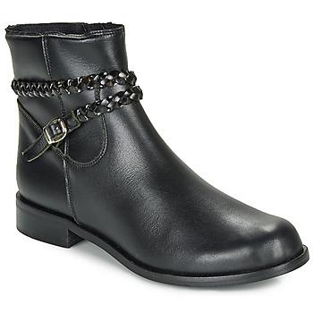 Zapatos Mujer Botas de caña baja So Size OSCARDO Negro