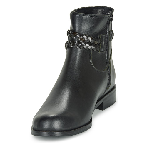 Size Caña Zapatos Botas De Mujer Oscardo So Negro Baja N0wOXnPk8