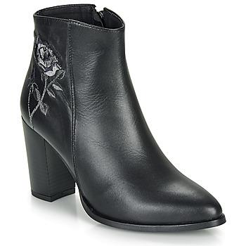 Zapatos Mujer Botines So Size BORDELO Negro