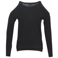 textil Mujer jerséis Guess CUTOUT Negro
