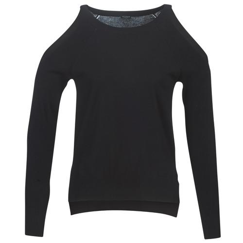 Guess CUTOUT Negro - Envío gratis   ! - textil jerséis Mujer