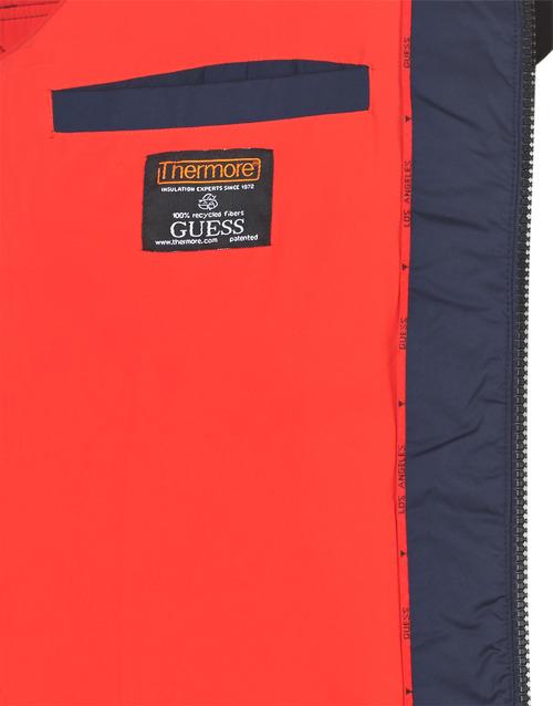 Guess Puffa Hooded Marino - Envío Gratis Textil Plumas Hombre 151