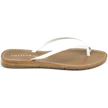 Zapatos Mujer Sandalias Chattawak sandales 7-RIADE Blanc Blanco