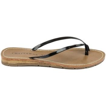 Zapatos Mujer Sandalias Chattawak sandales 7-RIADE Noir Negro