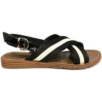 Zapatos Mujer Sandalias Chattawak sandales 7-TIFFANY Noir Negro