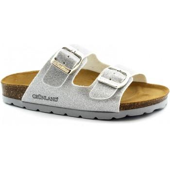 Zapatos Niños Zuecos (Mules) Grunland GRU-E19-CB0664-AR-b Argento
