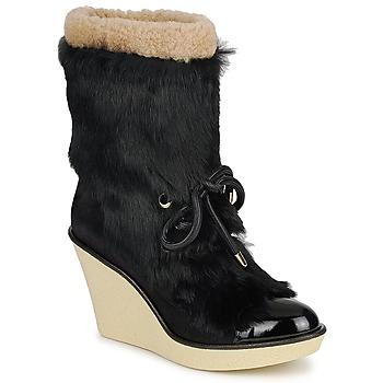 Zapatos Mujer Botines Sonia Rykiel HAIRY Negro
