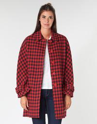 textil Mujer Abrigos Benetton SIDUDEL Marrón / Multicolor