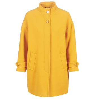 textil Mujer Abrigos Benetton STORI Amarillo