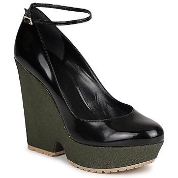 Zapatos Mujer Zapatos de tacón Sonia Rykiel LOCK Negro / Verde