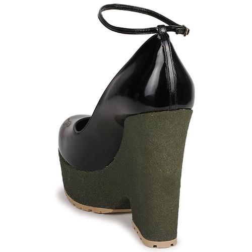 Mujer Zapatos De NegroVerde Rykiel Lock Sonia Tacón ULGqSzMVp