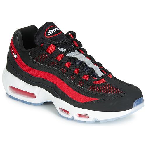 Detalles de Nike Air Max 95 Essential Zapatillas Negro Hombre