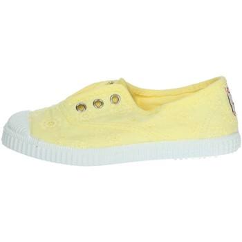 Zapatos Niña Zapatillas bajas Cienta 70998 Amarillo