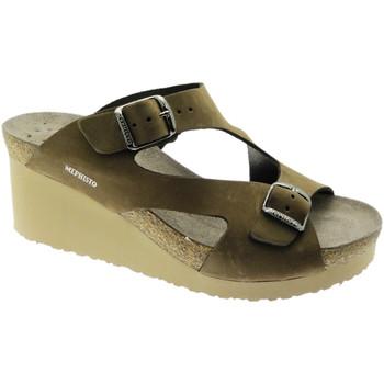 Zapatos Mujer Zuecos (Mules) Mephisto MEPHTERIEma marrone
