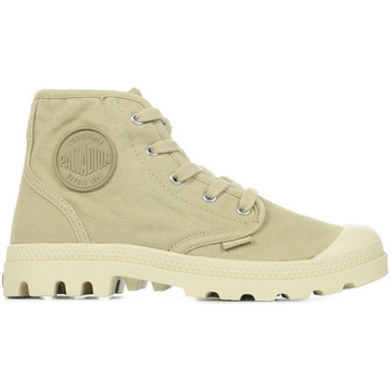 Zapatos Mujer Botas de caña baja Palladium Us Pampa Hi Wn's Beige