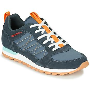 Zapatos Hombre Zapatillas bajas Merrell ALPINE SNEAKER Azul / Naranja