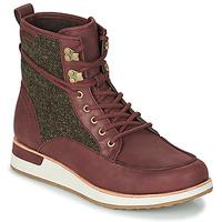 Zapatos Mujer Botas de caña baja Merrell ROAM MID Burdeo