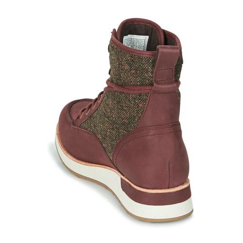 Baja Mujer Roam Mid Botas Burdeo Zapatos Merrell De Caña lF1KJc