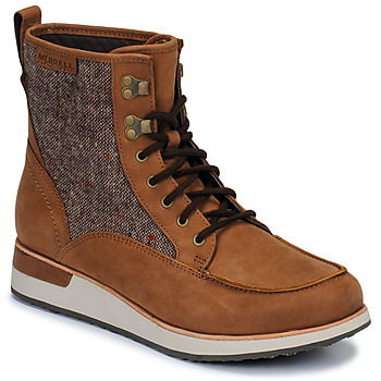 Zapatos Mujer Botas de caña baja Merrell ROAM MID Marrón