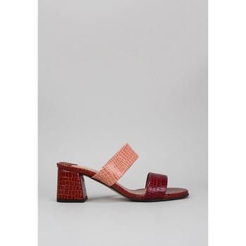 Zapatos Mujer Zuecos (Mules) Roberto Torretta  Burdeo