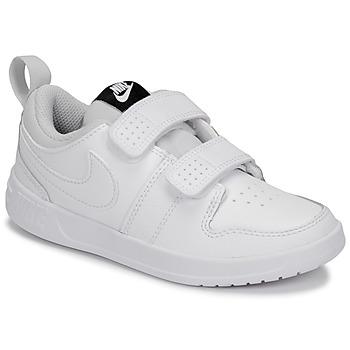 Zapatos Niños Zapatillas bajas Nike PICO 5 PRE-SCHOOL Blanco
