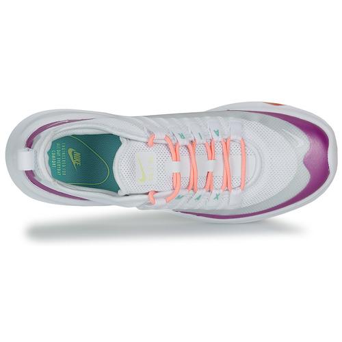 Zapatos BlancoVioleta Nike Bajas Air Axis Max Zapatillas Mujer W drCexoWB