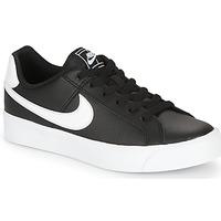 Zapatos Mujer Zapatillas bajas Nike COURT ROYALE AC W Negro / Blanco