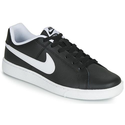 Estallar sala Amplificar  Nike COURT ROYALE Negro / Blanco - Envío gratis | Spartoo.es ! - Zapatos  Deportivas bajas Hombre 46,74 €