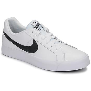 Zapatos Hombre Zapatillas bajas Nike COURT ROYALE AC Blanco / Negro