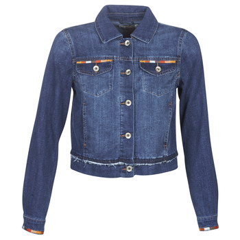 textil Mujer chaquetas denim Cream DIWA Azul