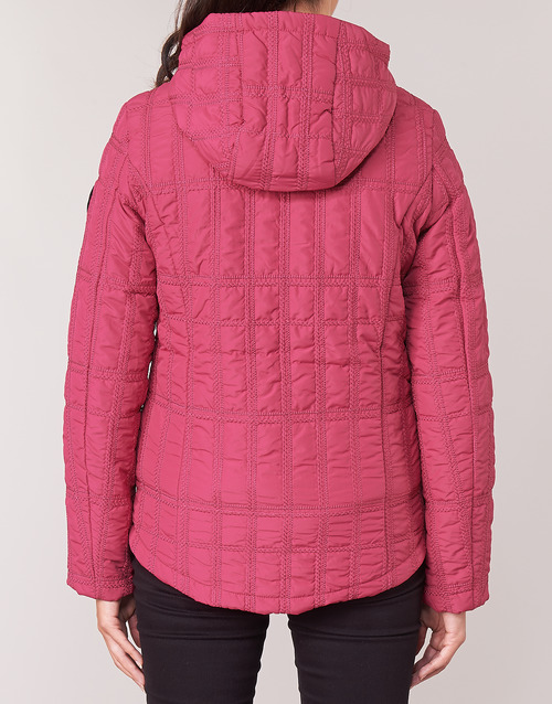 Textil Mujer Edimburgo Desigual Plumas Rojo reoCWdBx