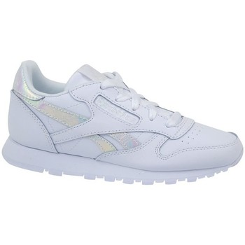 942aa14a9 Zapatos Niños Zapatillas bajas Reebok Sport Classic Leather Blanco