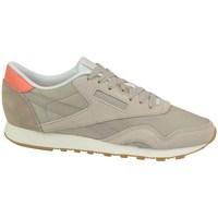 Zapatos Mujer Zapatillas bajas Reebok Sport CL Nylon Beige